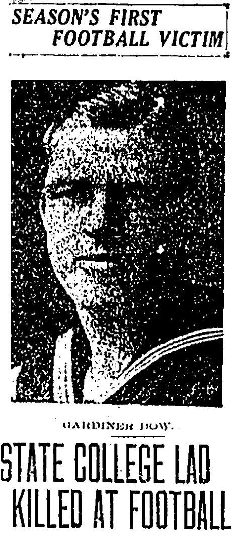 Gardner Dow's photo from the Courant's coverage of his death.