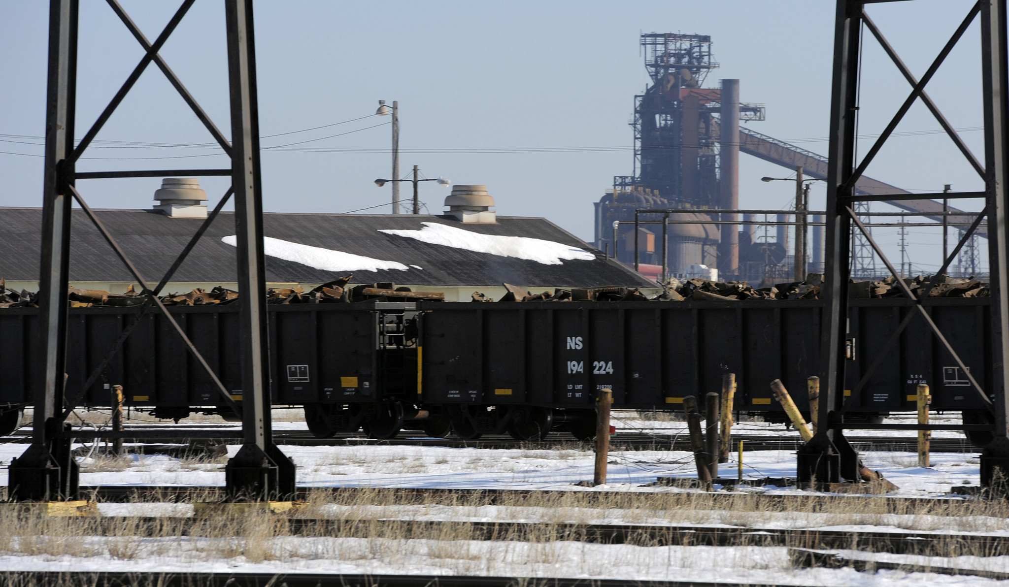 L Furnace Sparrows Point Workers at Spar...