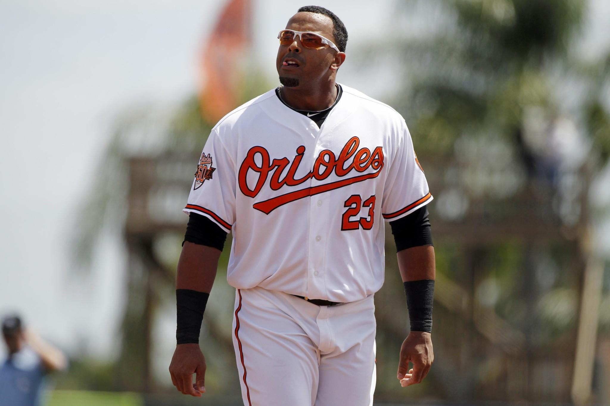 Orioles right fielder Nelson Cruz