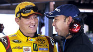 Kyle Busch wins the pole for NASCAR race at Martinsville