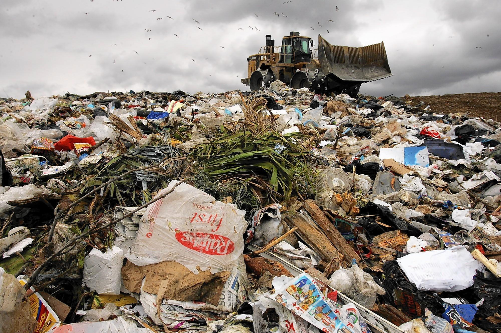 Landfills are among the biggest sources of methane going into the atmosphere.