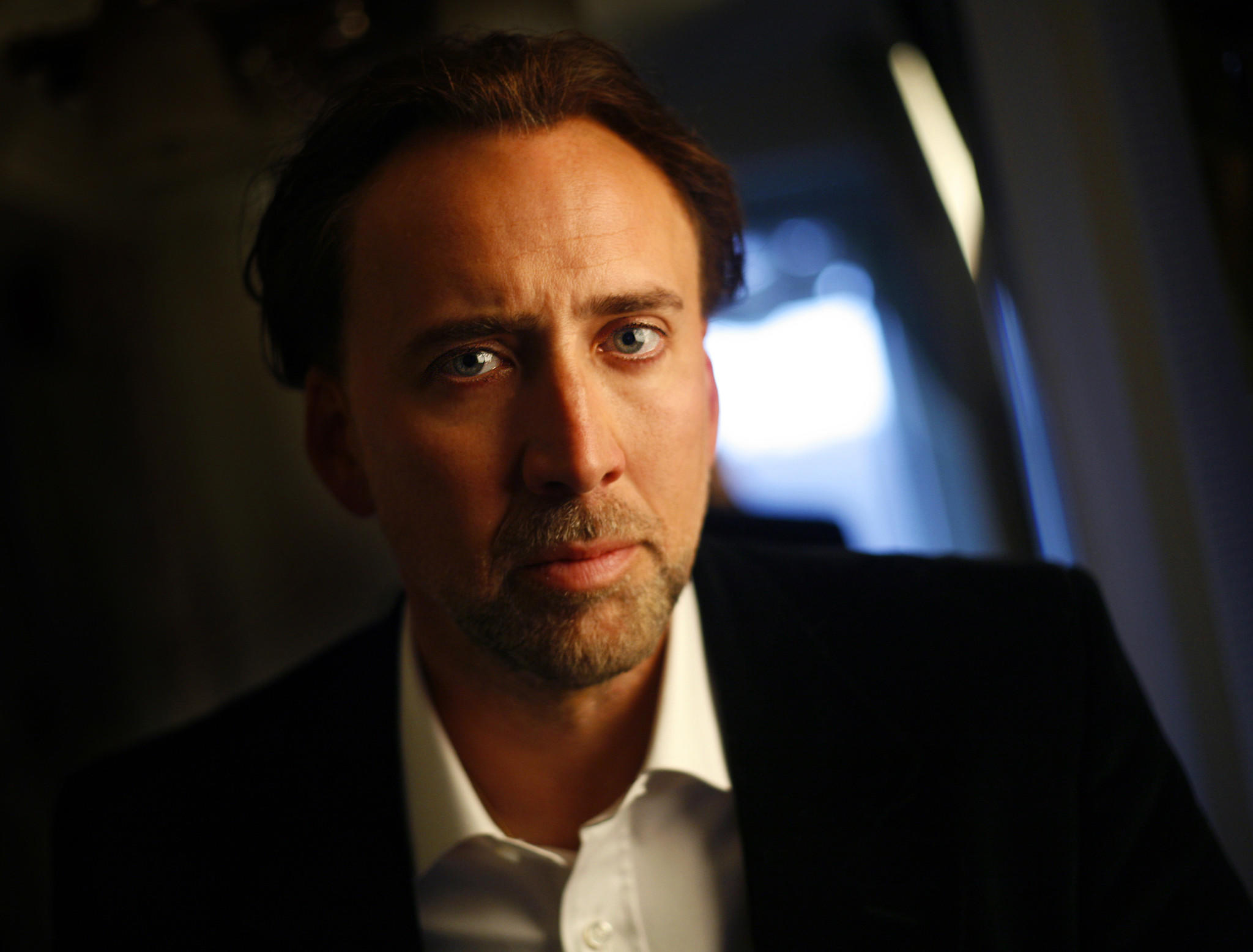 "Nicolas Cage will star in the Christian drama ""Left Behind,"" set for an Oct. 3 release."