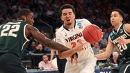 Virginia falls to Michigan State 61-59 to end season in East Regional semifinals