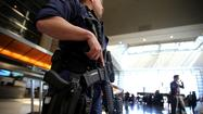 Stationing of armed officers at airports is focus of hearing