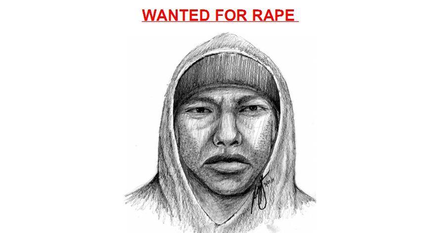 Baltimore police released this sketch of a suspect in a Northeast Baltimore sex assault investigation.