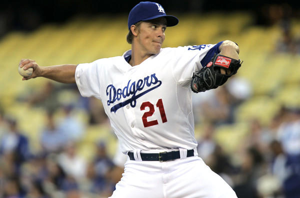 Former Cy Young Award winner Zack Greinke gives the Dodgers a second ace on the staff behind Clayton Kershaw.