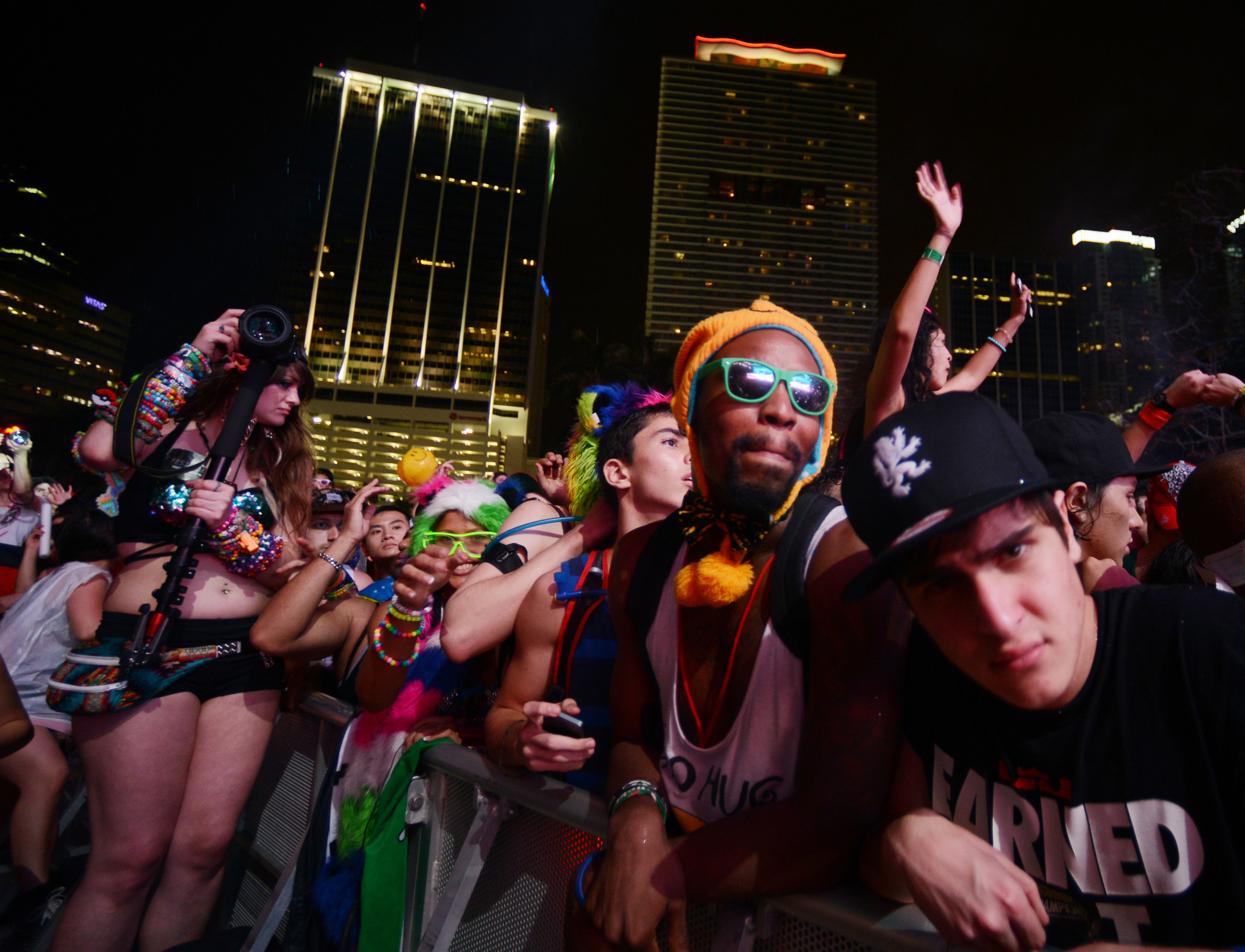 Ultra Music Festival 2014 fans and artists - Ultra 2014