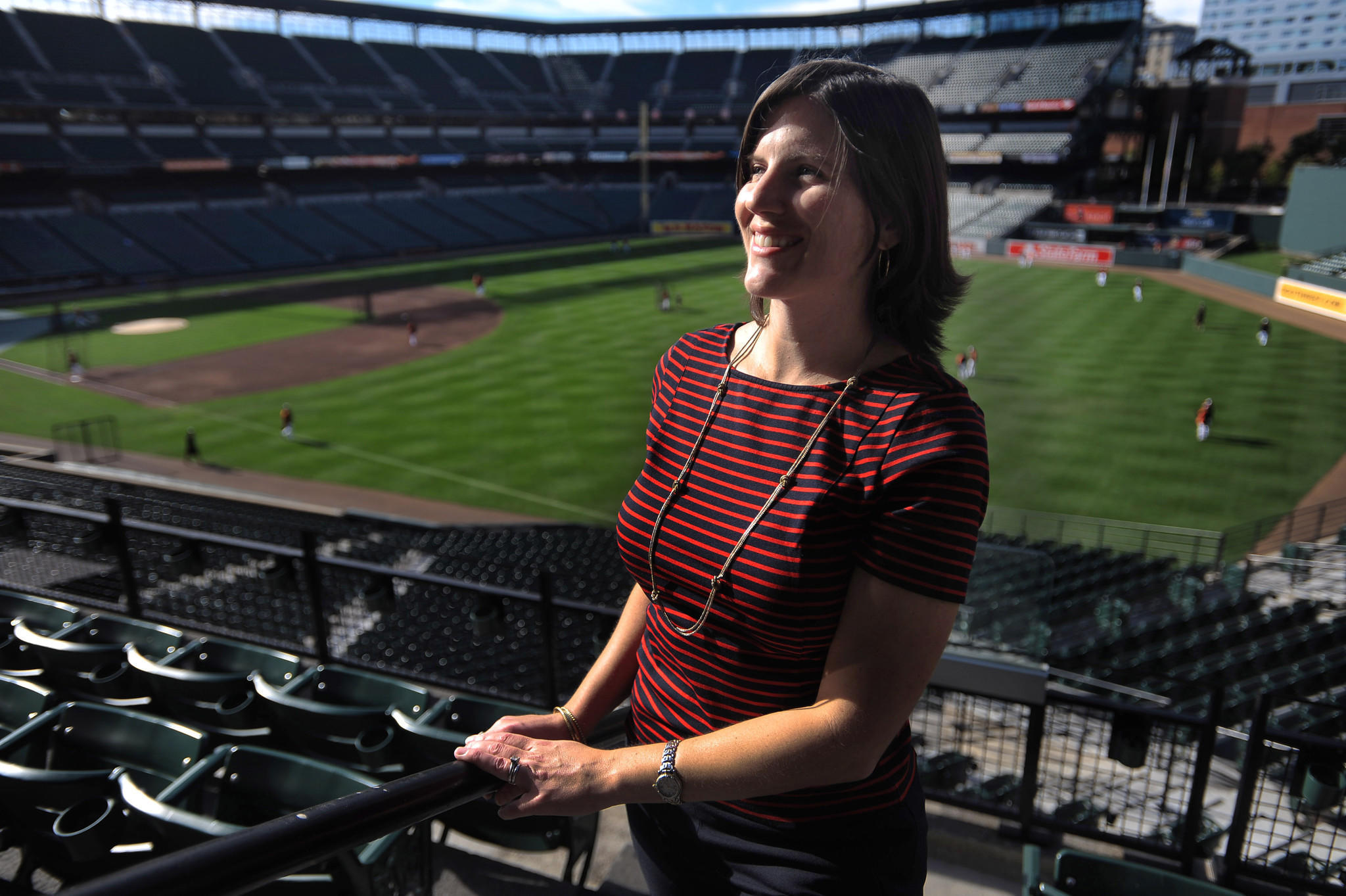 The Orioles will honor Monica Pence Barlow before the season-opener against Boston on March 31, 2014. The Orioles director of public relations died earlier this year after a battle with lung cancer. She was 36.