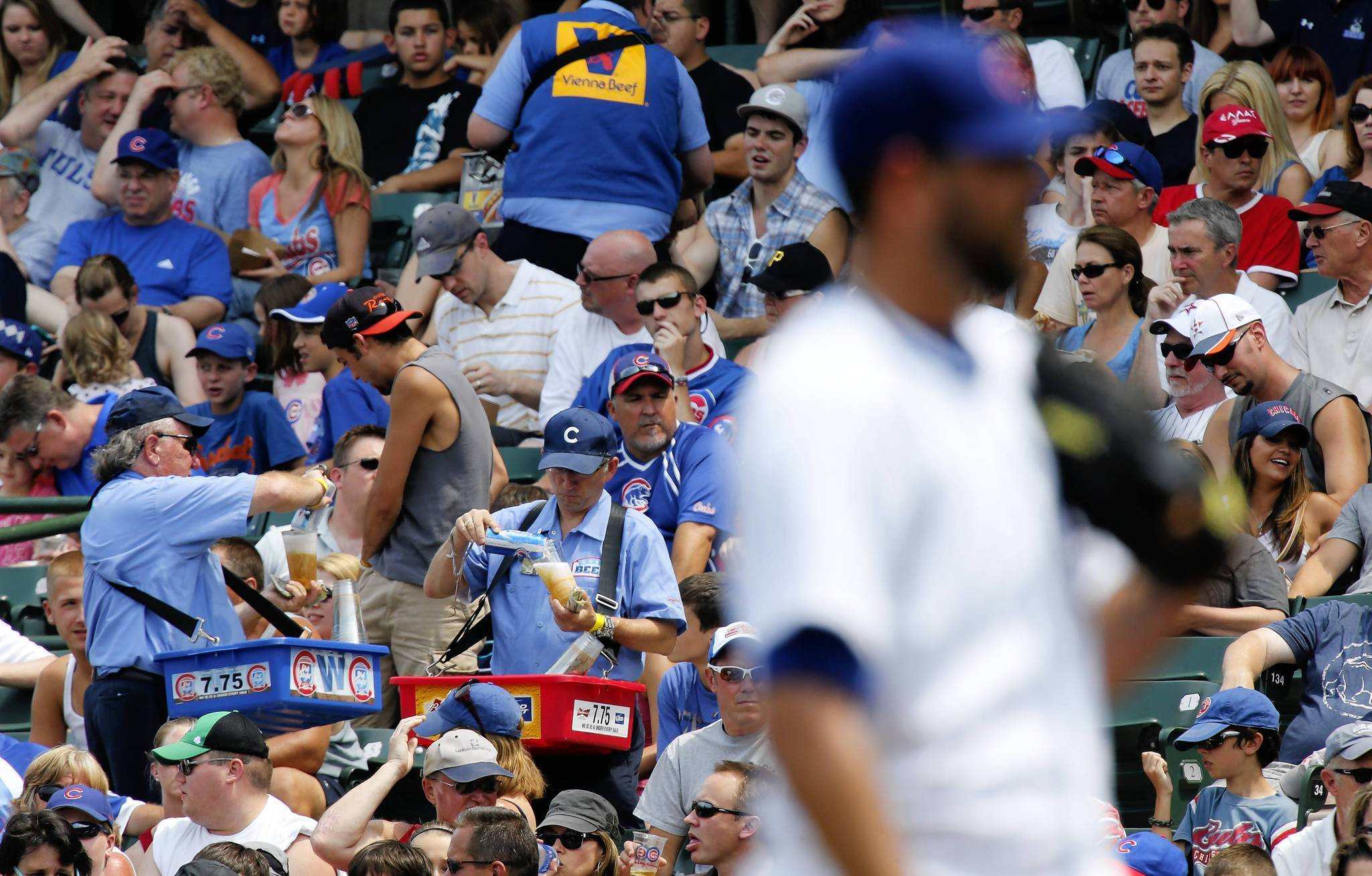 Beer vendors at Wrigley Field will no longer carry Old Style, but will carry offerings from Goose Island, the team said.