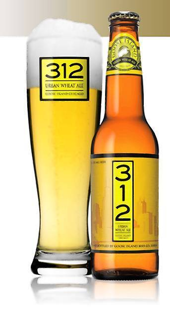 Goose Island's 312 Urban Wheat Ale will now be available at your seat in Wrigley Field.