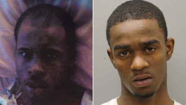 Booking photos of Marquise Peppers and Willie L. Boswell (from left)