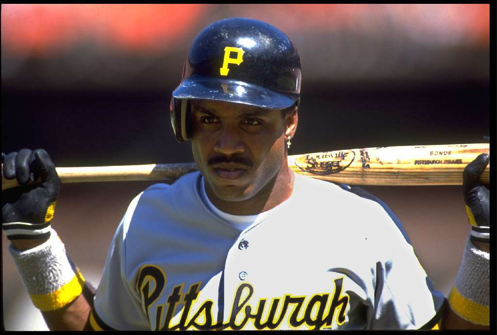 Barry Bonds with the Pirates in 1991.
