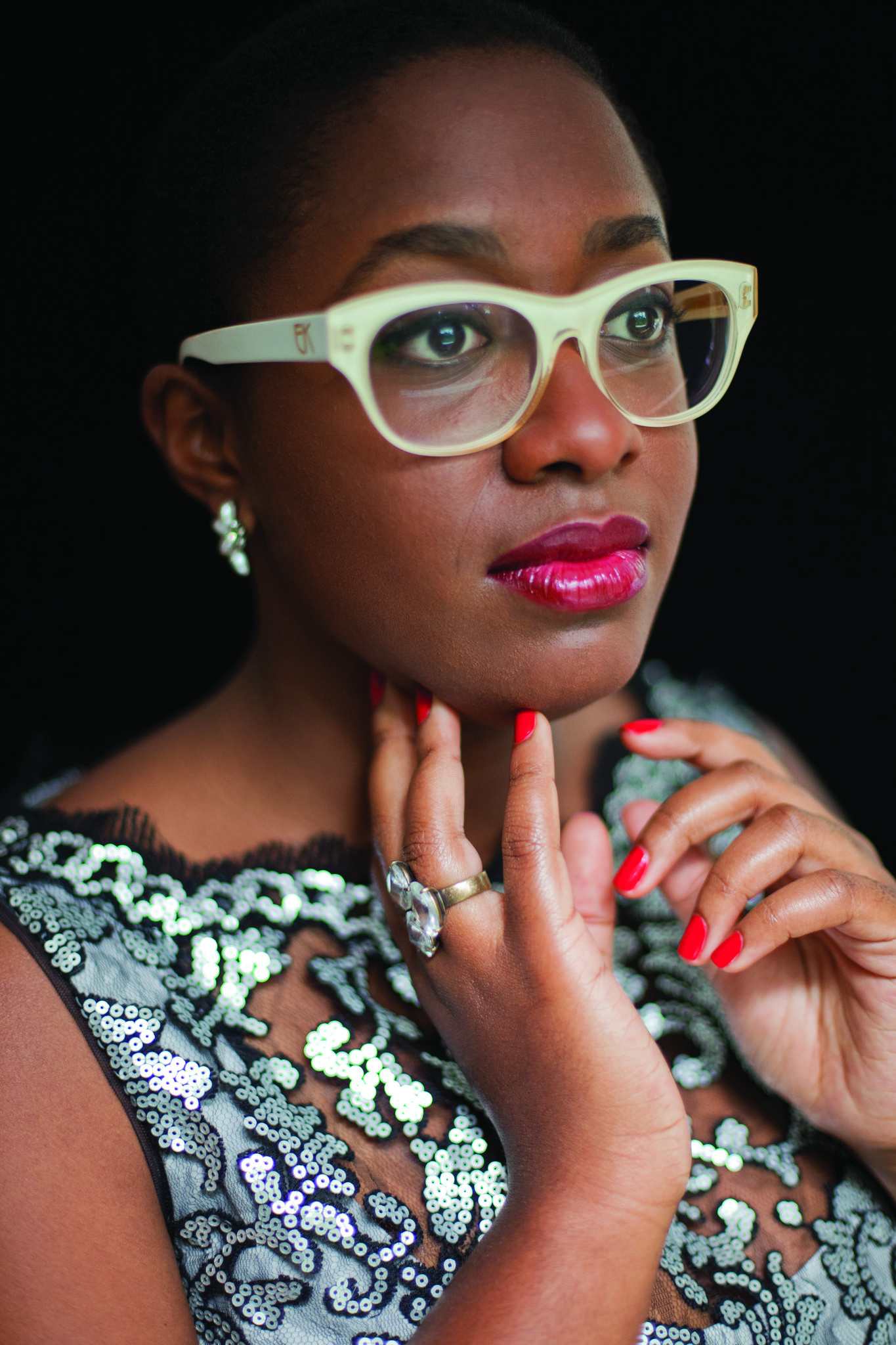 Cecile McLorin Salvant performs at Jazz for Juvenile Diabetes on April 5 in West Hartford.