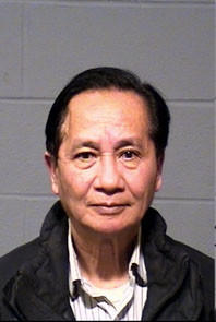 Nghi Le, 66, was arrested Friday and charged with first-degree sexual assault and second-degree unlawful restraint.