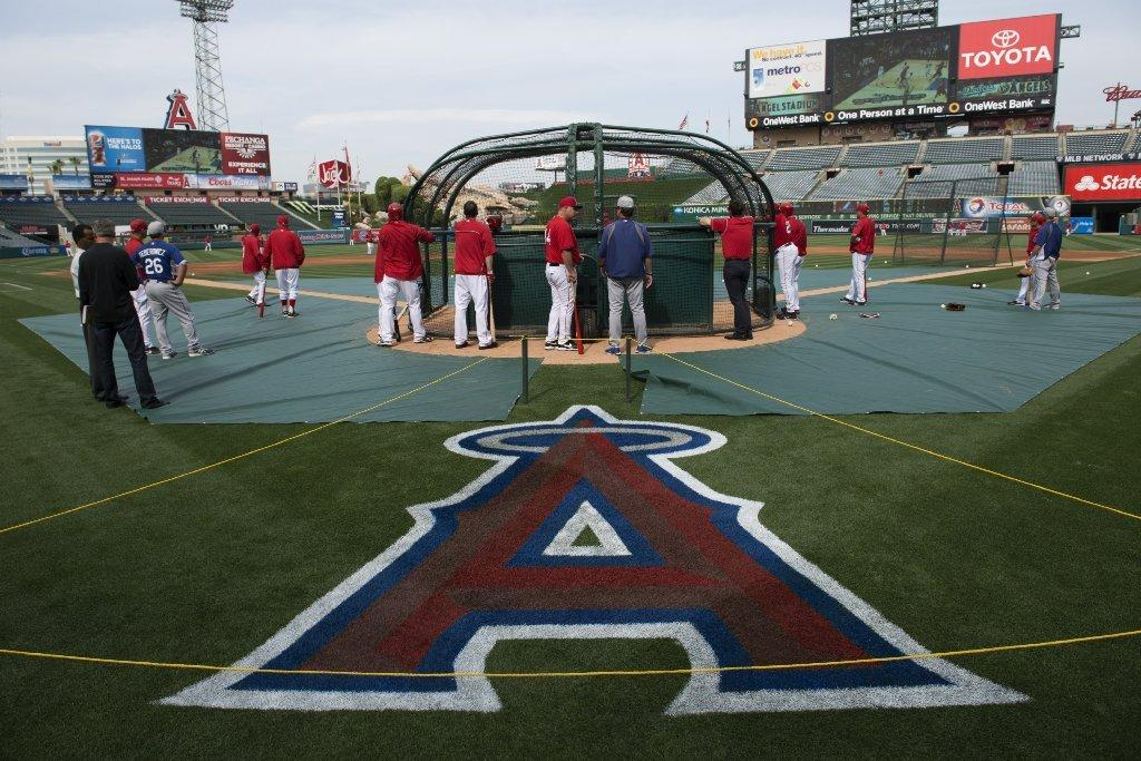 No, the fences have not been moved in at Angel Stadium.