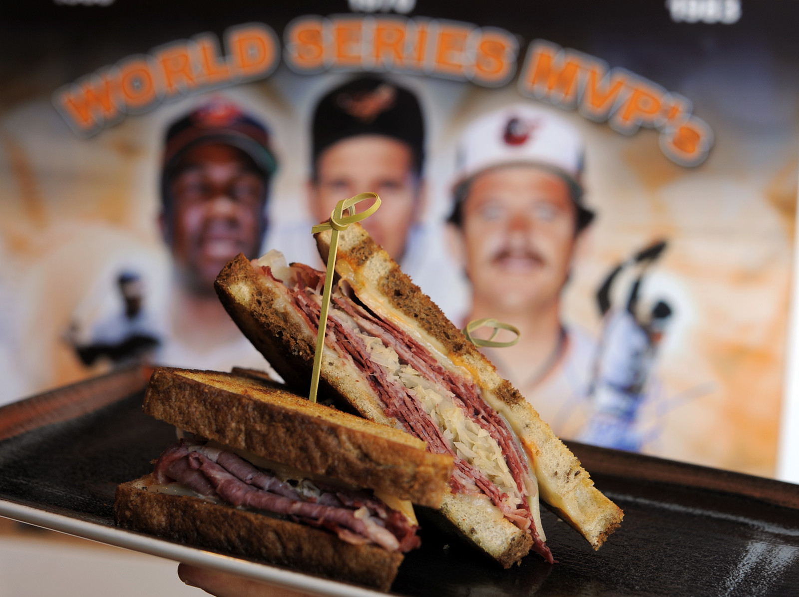 New food items at Oriole Park, and some returning favorites [Pictures] - Corned Beef Reuben
