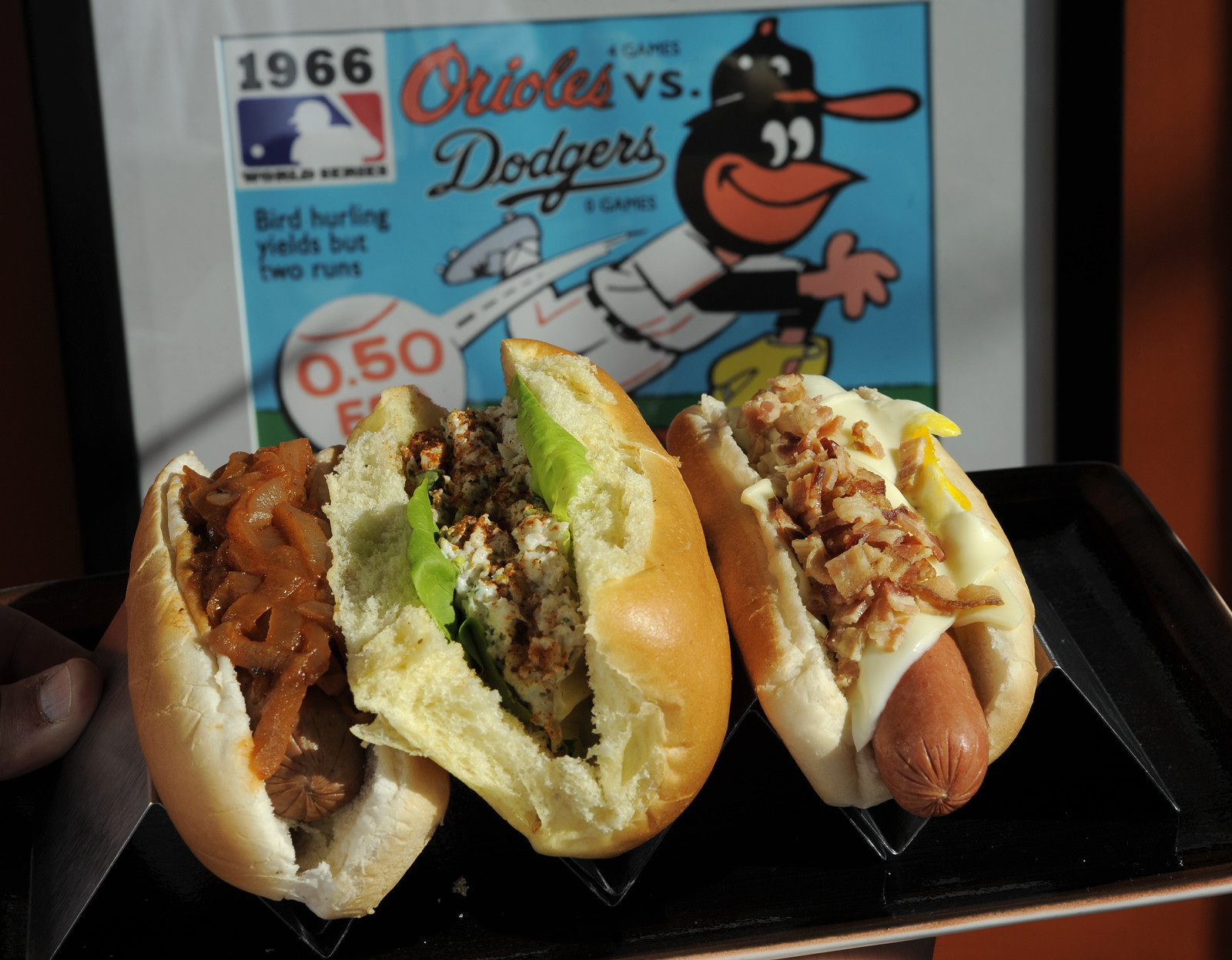 New food items at Oriole Park, and some returning favorites [Pictures] - New at Oriole Park in 2014