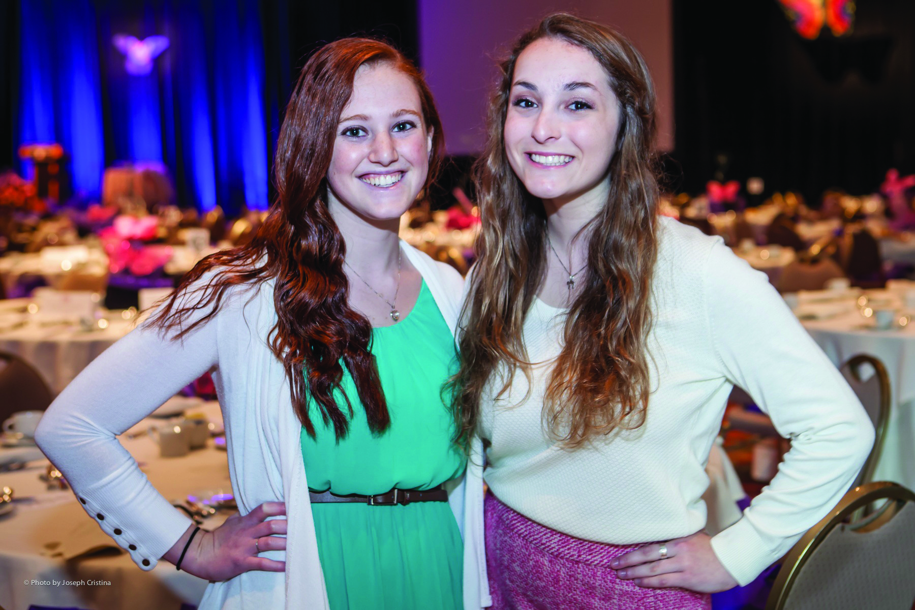 Society Scene photos - Jessie Baldinger, left, and Lillian Lesser were among the nearly 500 supporters to attend Alpert Jewish Family & Children