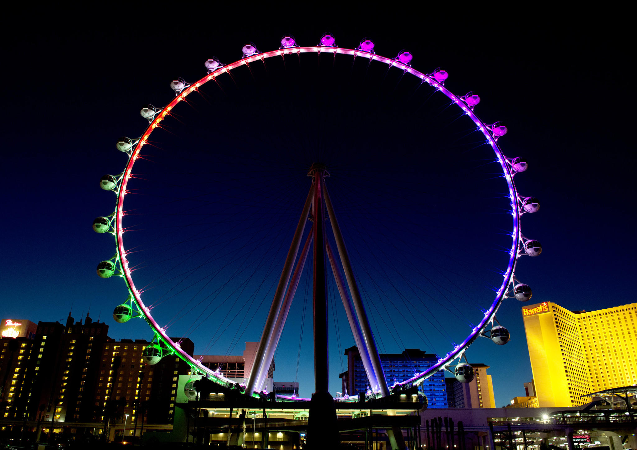 high roller wheel las vegas