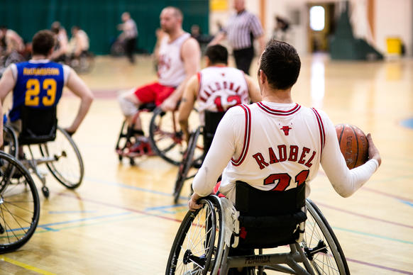 The Wheelchair Bulls kick off their season at Broadway Armory Park