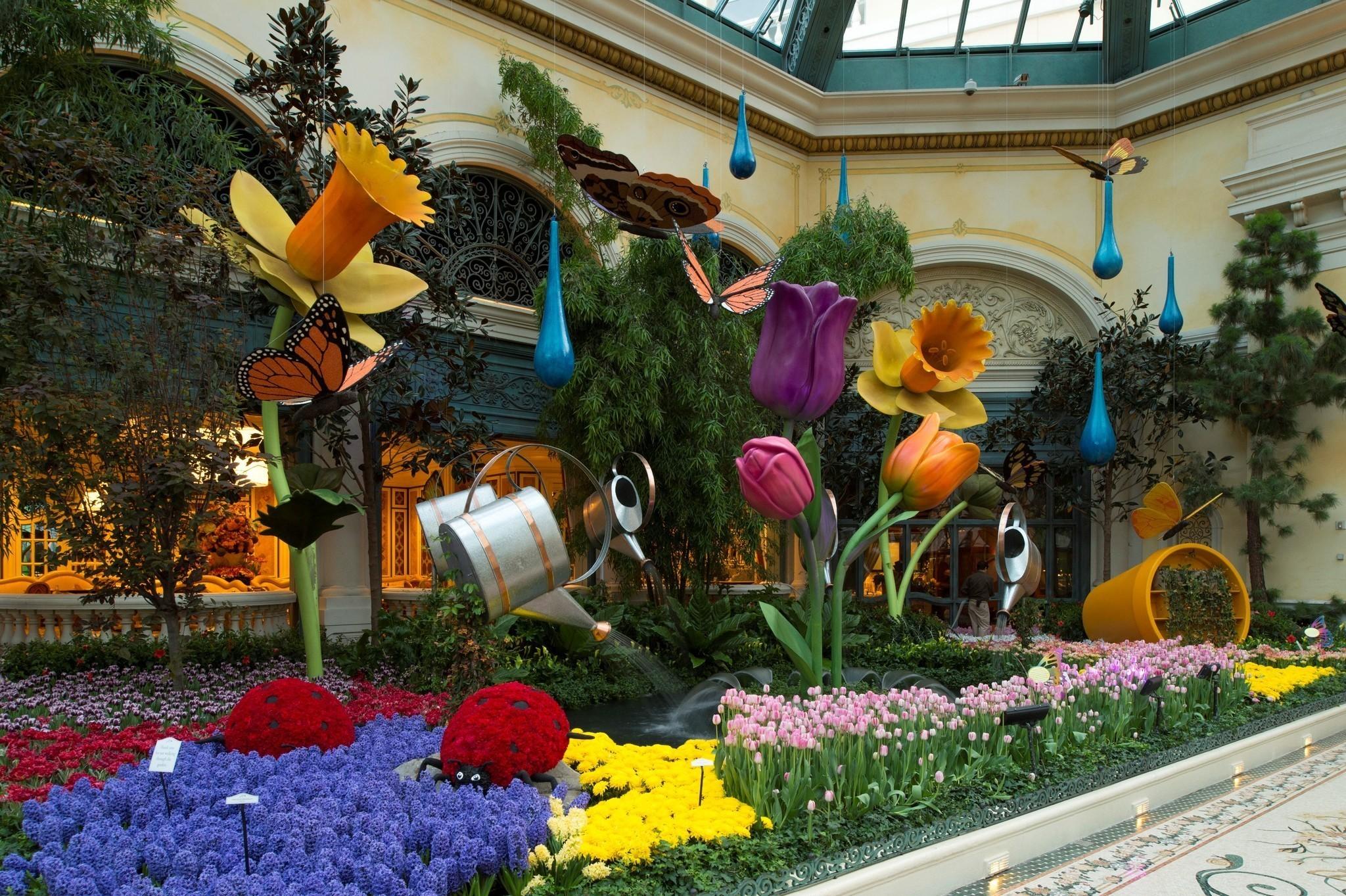 Las Vegas Spring Arrives At Bellagio 39 S Botanical Gardens