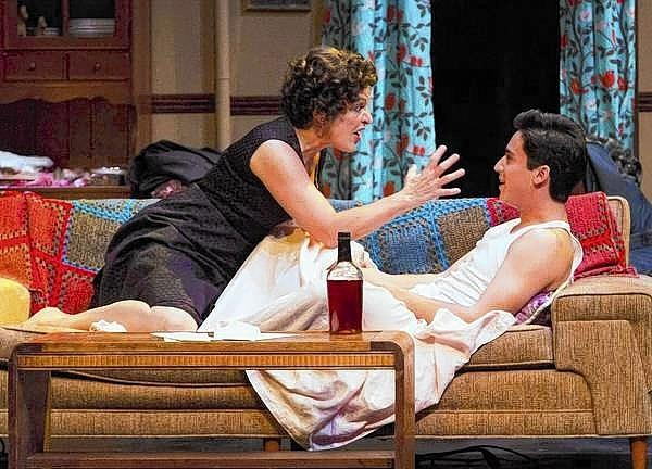 Priscilla Lopez and Michael Rosen in 'Somewhere' at Hartford Stage.