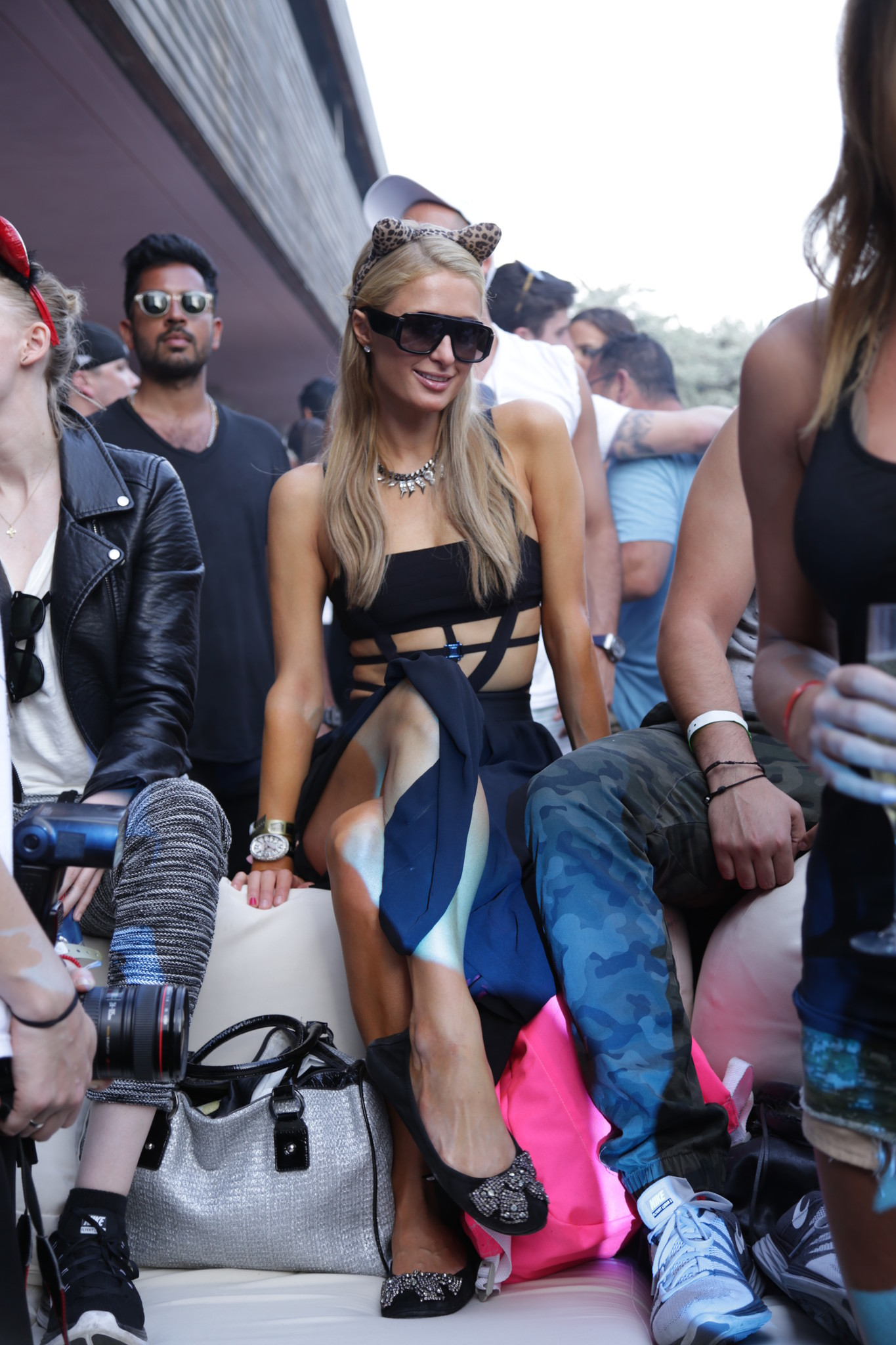 Celeb-spotting around South Florida - Paris Hilton at the Alesso at SLS South Beach