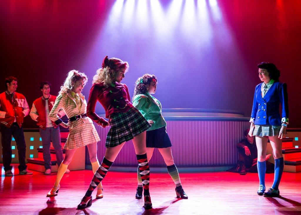 "A scene from the musical ""Heathers"" at New World Stages in New York."