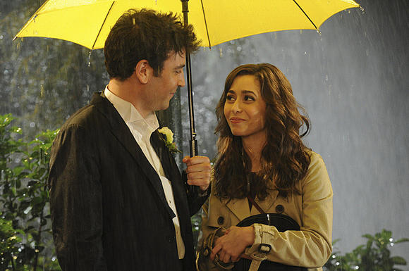 """Josh Radnor and Cristin Milioti on the finale of CBS' """"How I Met Your Mother."""""""