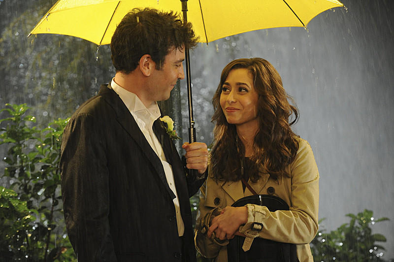 "Josh Radnor and Cristin Milioti on the finale of CBS' ""How I Met Your Mother."""