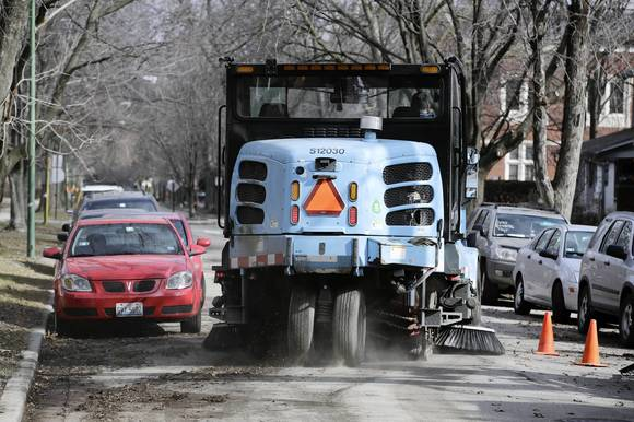Street sweeping season