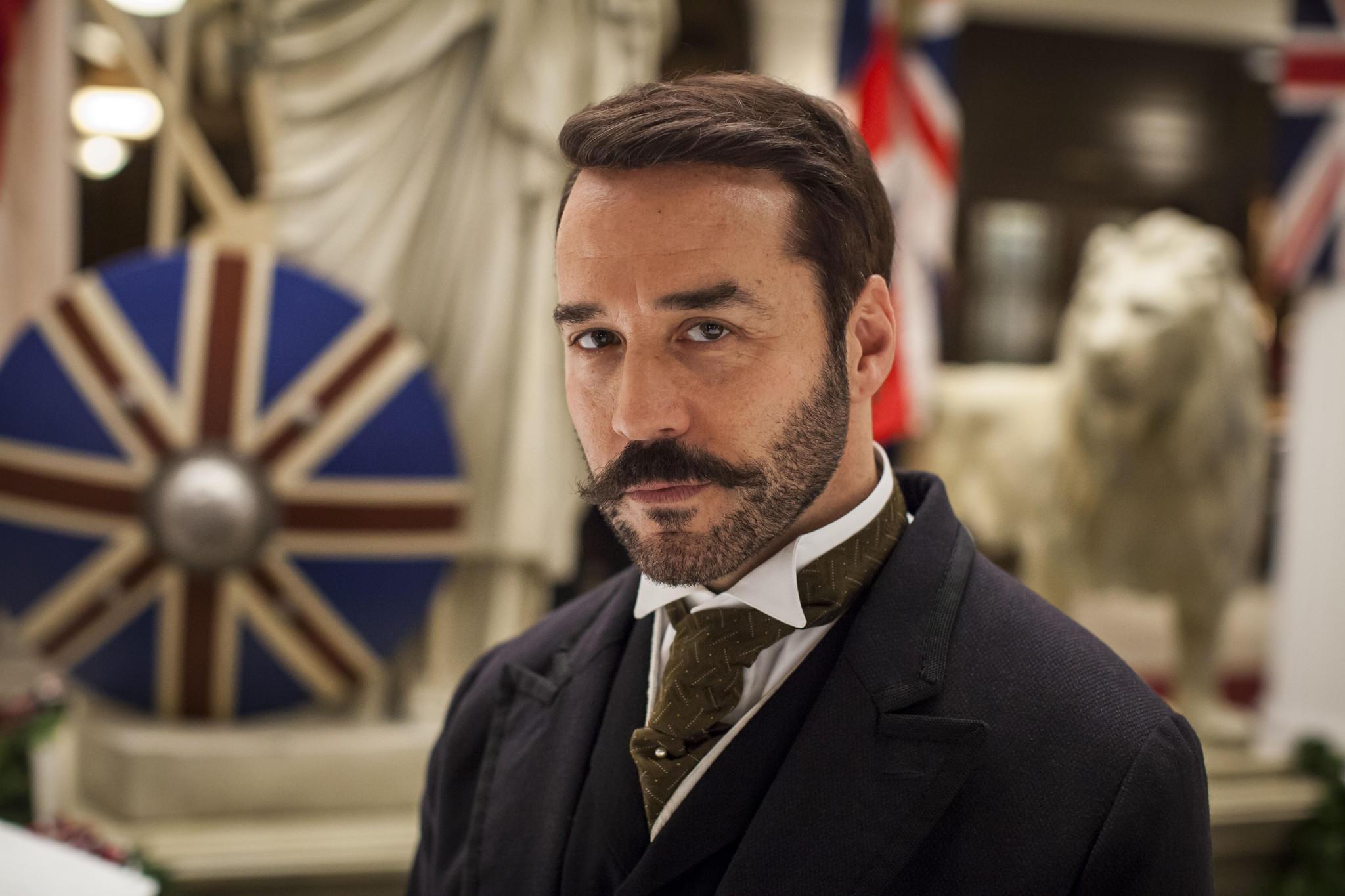 """Jeremy Piven stars as Harry Gordon Selfridge in """"Mr Selfridge."""""""