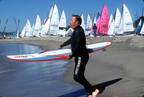 Surfoard designer Hobie Alter was a self-taught design innovator and entrepreneur who was guided by his imagination above all else.