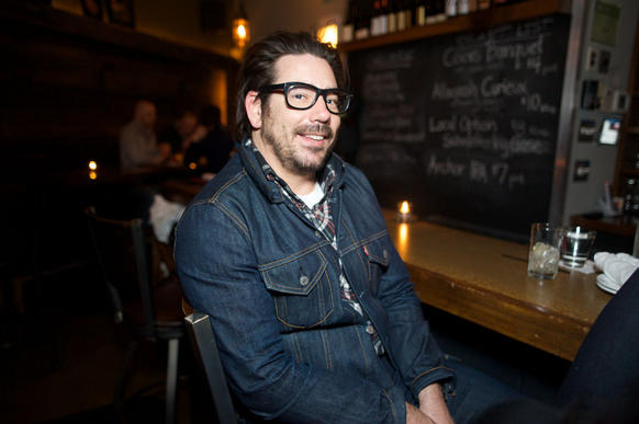 Kyle Wortham, 38, works in marketing<br><br>