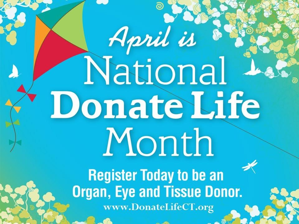 2014 National Donate Life Month.