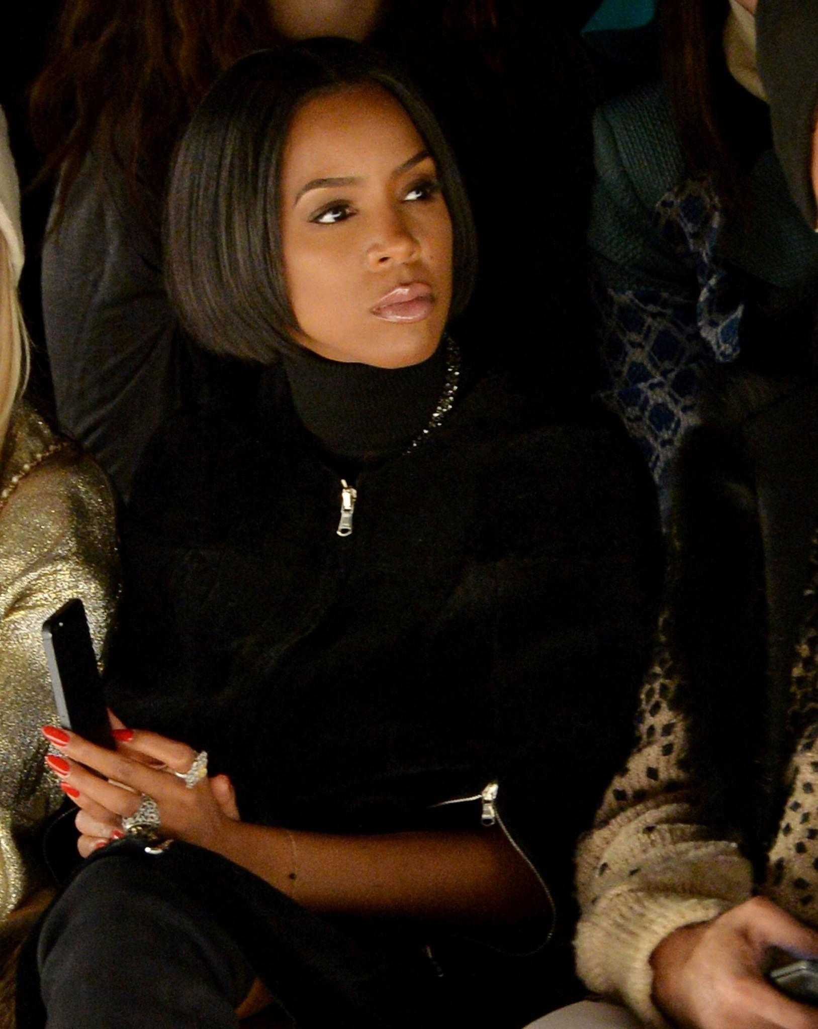Singer Kelly Rowland attends the Kaufmanfranco fashion show during Fashion Week in New York City.