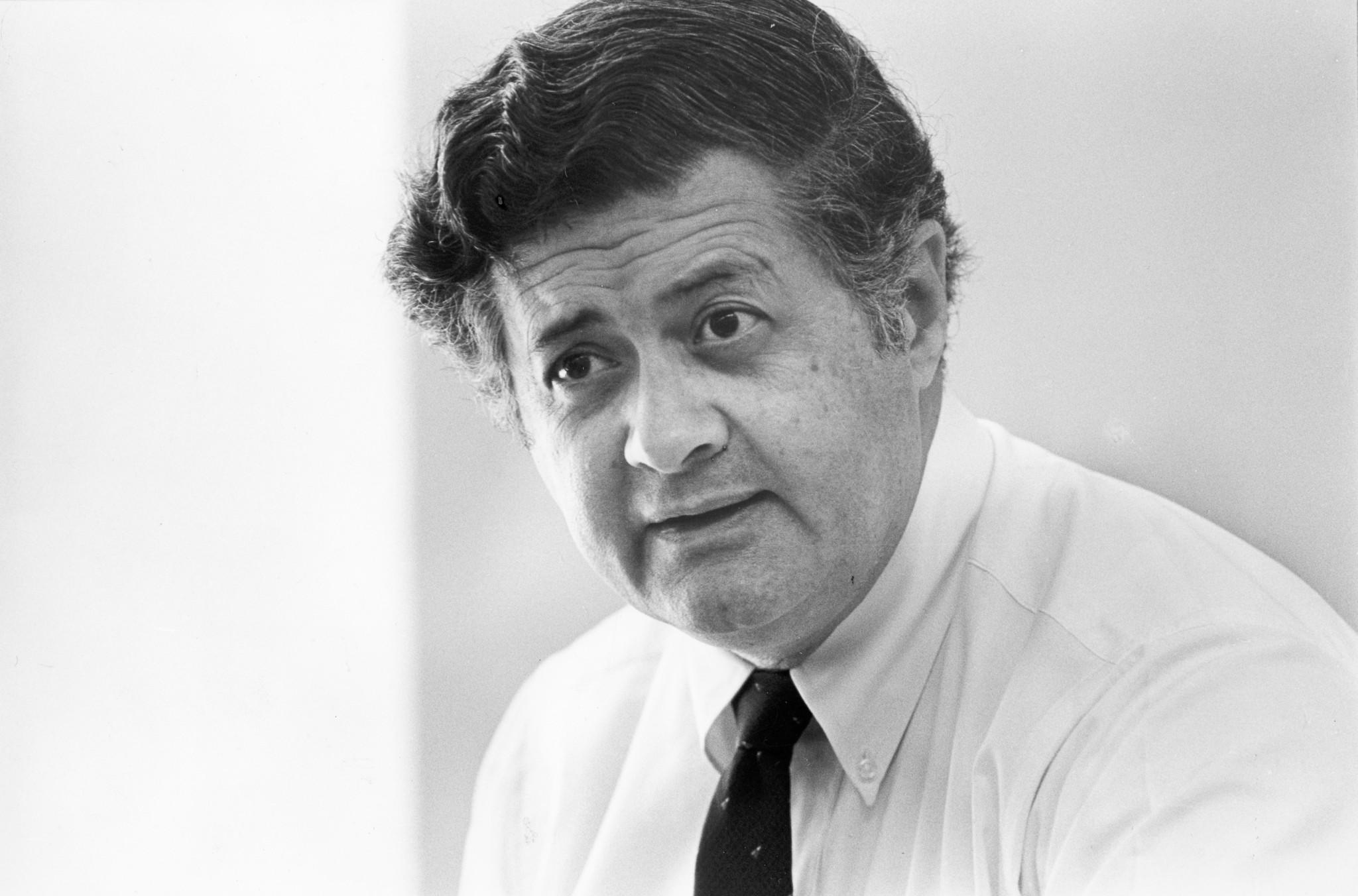 Robert L. Brosio, chief of the criminal division of the U.S. attorney's office in Los Angeles, in 1986.