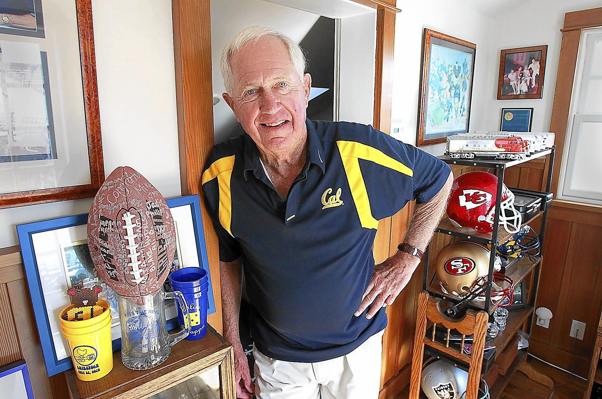 Former college and NFL coach Mike White was head coach during Cal Berkeley's Pac-8 co-championship in 1975, a team that was led by Joe Roth, who is the subject of a new documentary to be shown at the Newport Beach Film Festival.