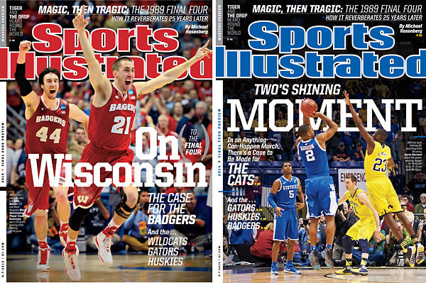 Sports Illustrated has unveiled a regional cover featuring the University of Wisconsin Badgers basketball team. Superstitious sports enthusiasts have long argued that the magazine's cover serves as a jinx to the players or teams depicted on it.
