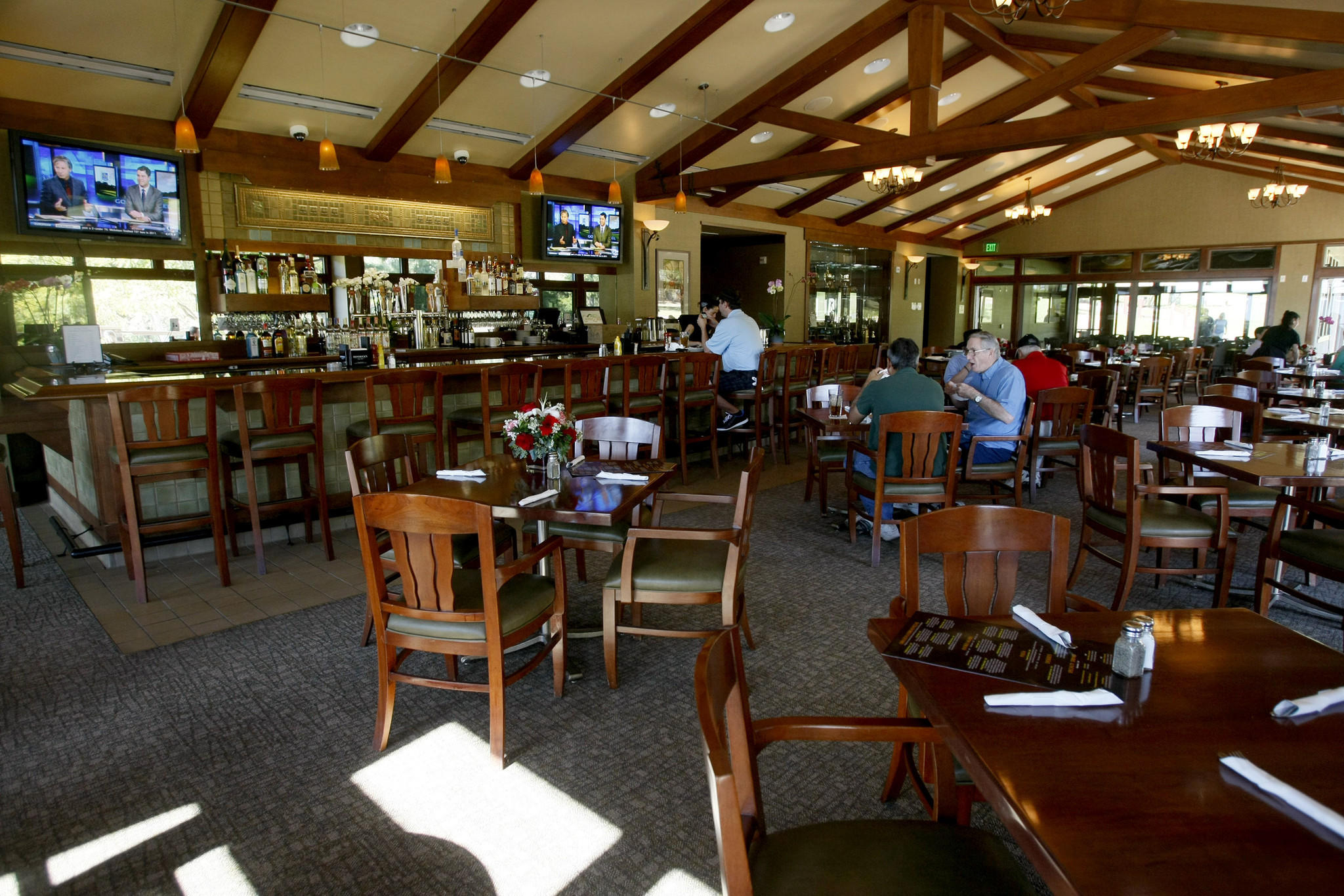 A grand opening will be held next week for the new restaurant Canyon Grille at DeBell at DeBell Golf Club in Burbank, pictured on Friday, January 17, 2014.
