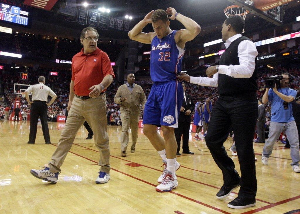Blake Griffin (back spasms) might play tonight against Phoenix. Then again, he might not.