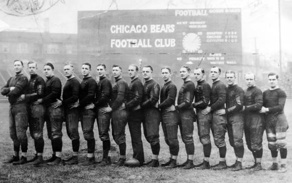 The 1925 Chicago Bears Team Chicago Tribune Historical Photo