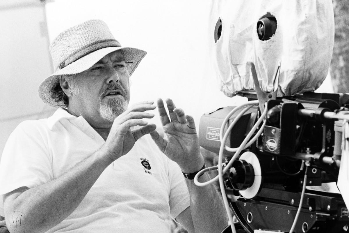 A 1979 file photo of director Robert Altman.