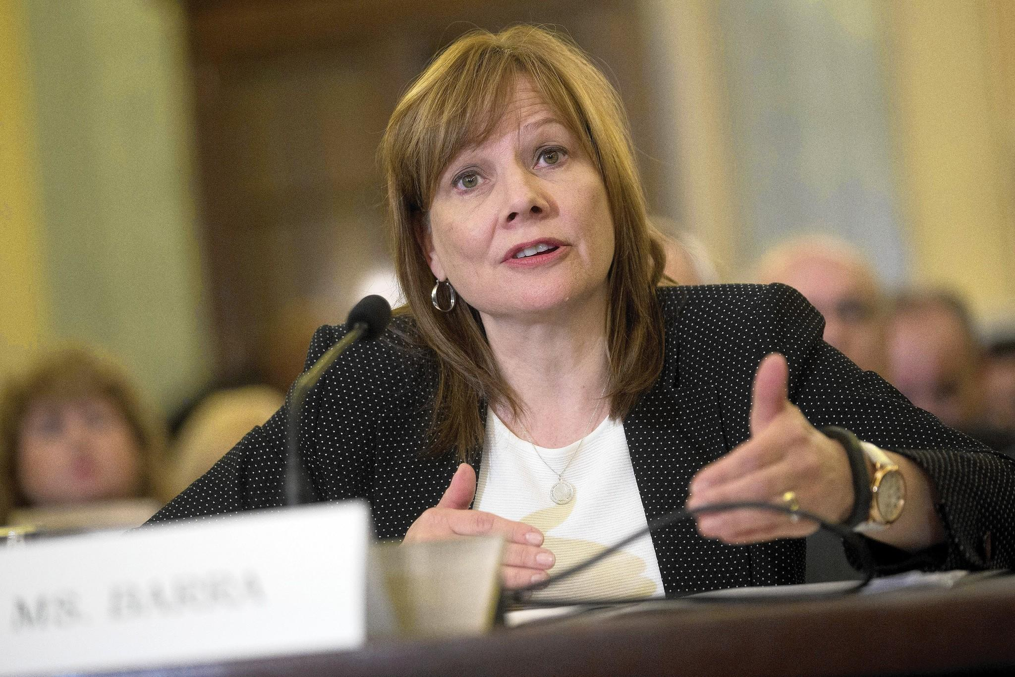 "During two days of hearings, Mary Barra, chief executive officer of General Motors Co., called the decision to go with cheaper ignition switches a ""mistake."""
