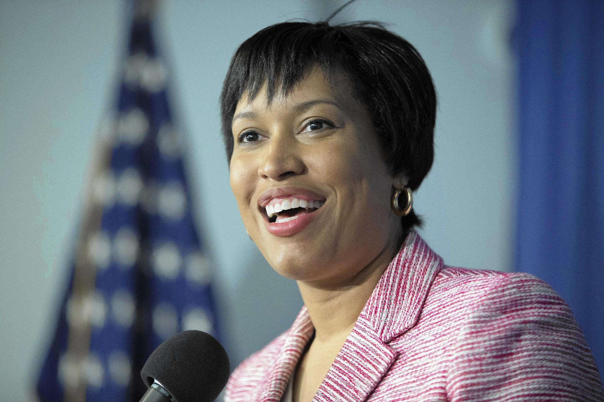 """Corruption in City Hall is unacceptable,"" Muriel Bowser said in her victory speech after beating the scandal-tarnished incumbent mayor of Washington, D.C., in the Democratic primary."