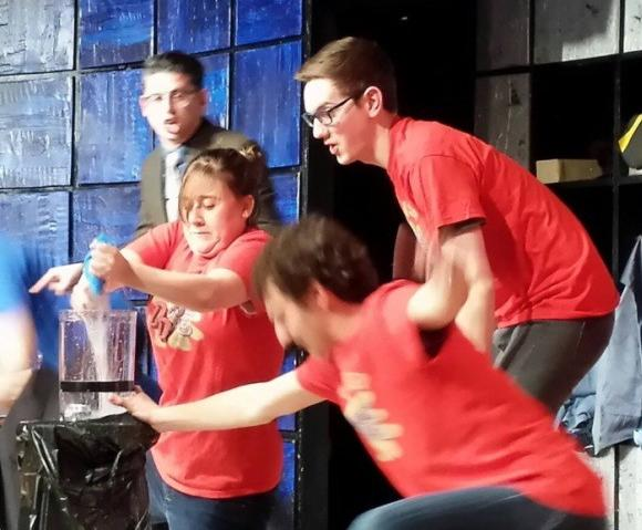 "ComedySportz's ""Improvised Double Dare"""