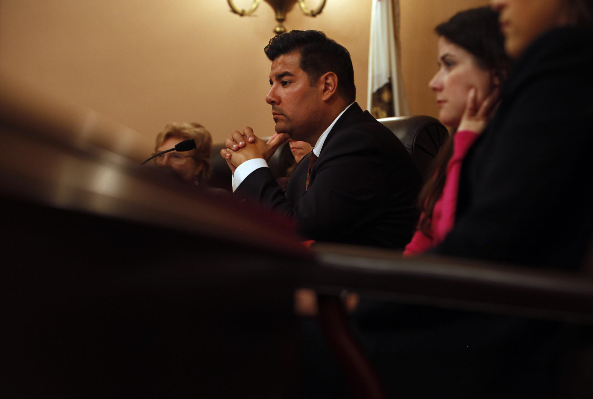 State Sen. Ricardo Lara (D-Bell Gardens) saw his bill aimed at reducing deportations for minor crimes approved by the Senate.