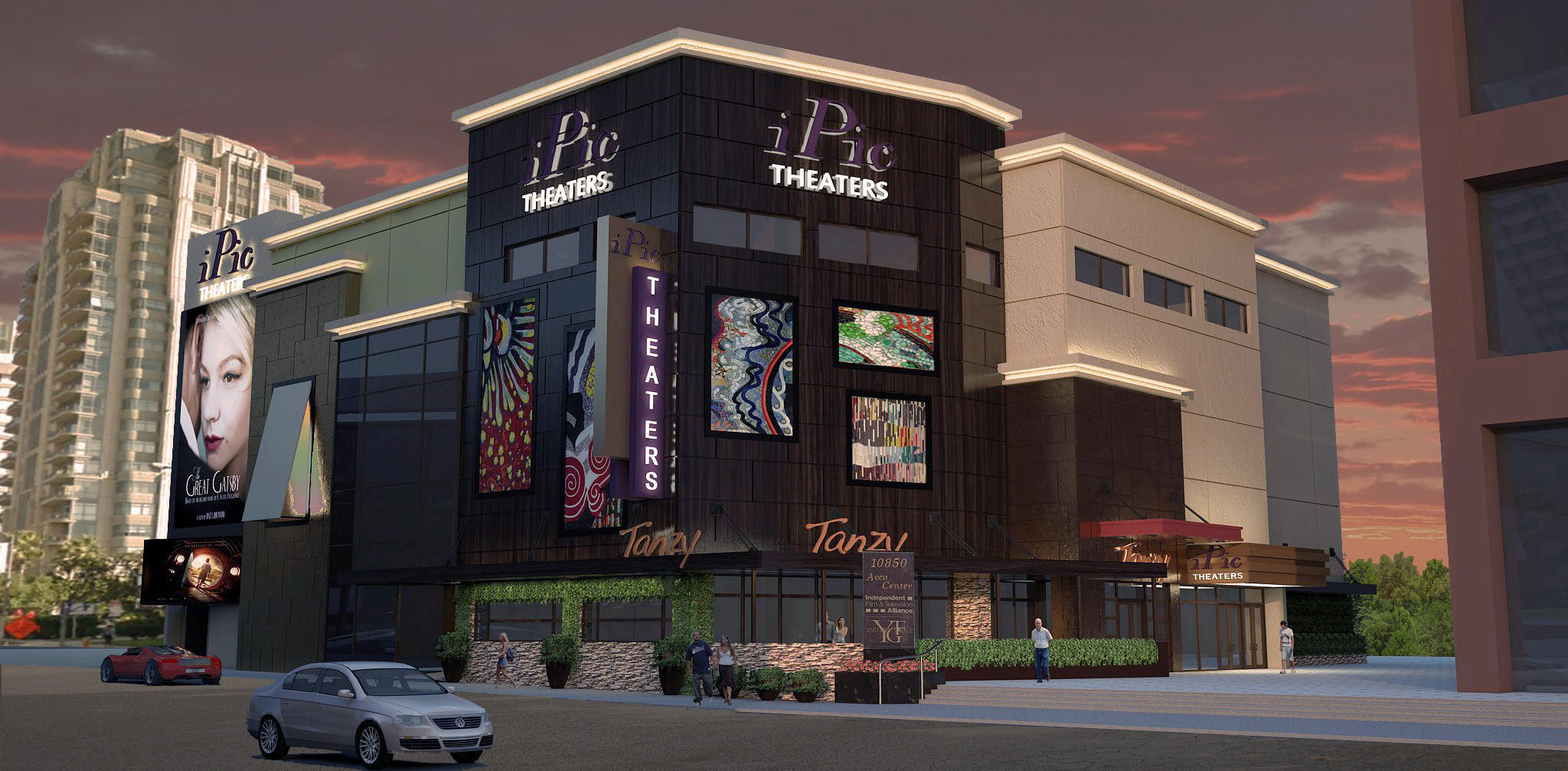 iPic Theaters is opening a luxury cinema in Westwood.