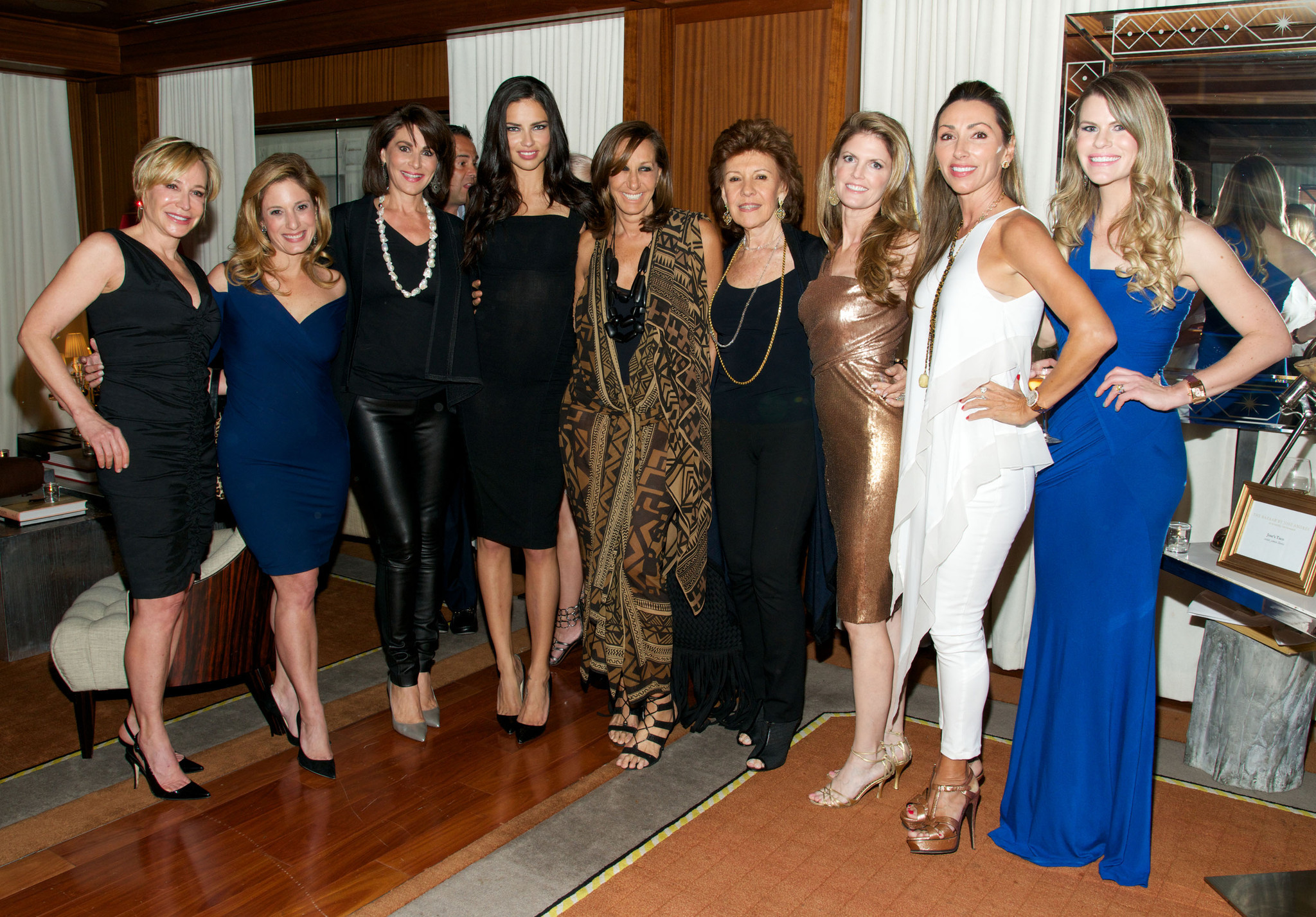 Society Scene photos - Donna Karan Fashion Show co-hosted by Women of Tomorrow at SLS Hotel