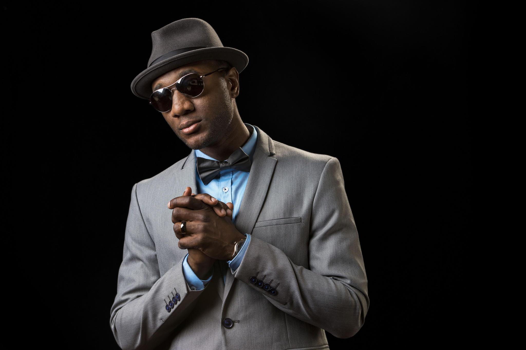 R&B singer Aloe Blacc.